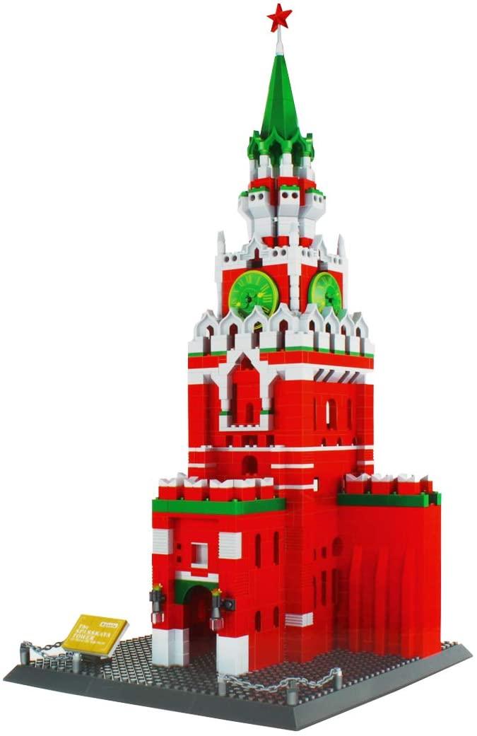 Larcele 1048 Pieces World Famous Building Blocks Bricks Set Construction Toy Set for Children and Adults KLJM-03 (Kremlin, Russia)