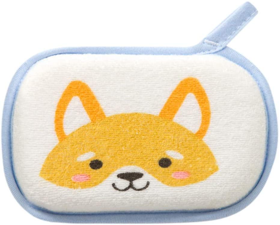 Baby Cartoon Fox Bathing Sponge Child rubbing Bath Towel Bath Ball Bath Wipe Newborn Baby Kids Shower Bath Sponge Cartoon Body Wash Towel Accessories