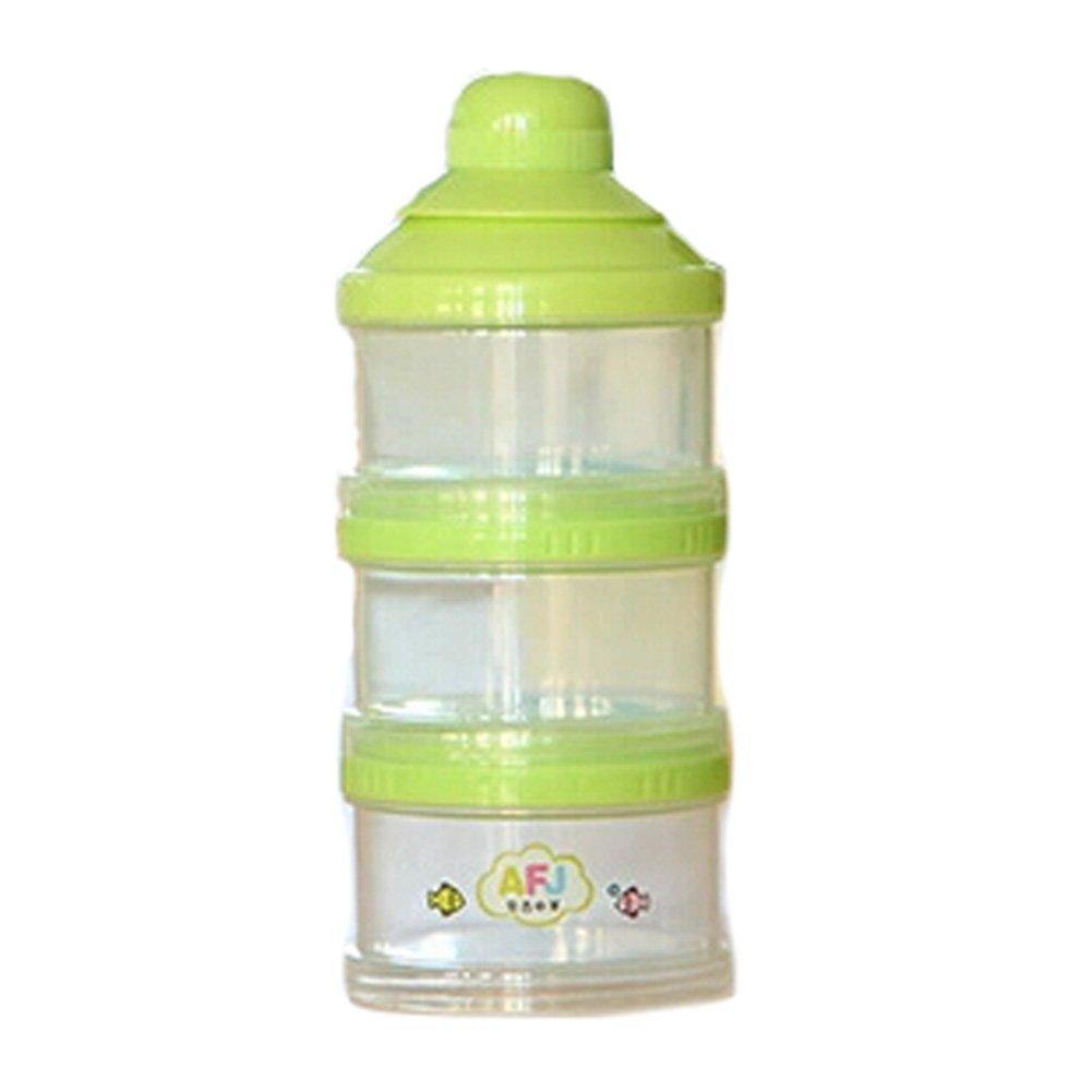 Baby Milk Powder Dispenser/Storage Container,Green