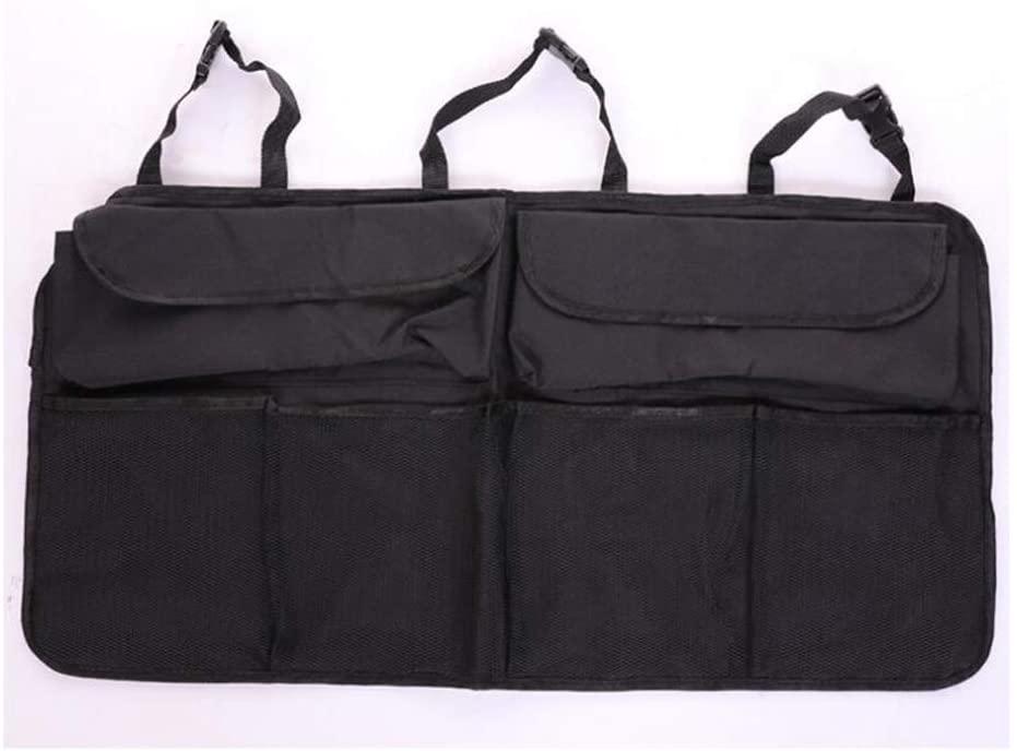 Car Organisers Bessie Sparks Trunk Storage Bag Back Seat Organizer Hanging Black