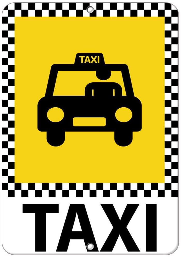 Taxi Parking Sign Vinyl Sticker Decal 8