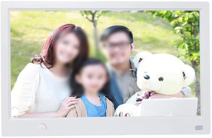 Digital Photo Frame, 11.6 inch HD Multifunction Digital Photo Frame Album Player with Motion Sensor Photo Player Gift for Family Numbers Friends for Birthday, Wedding, Etc.(White)