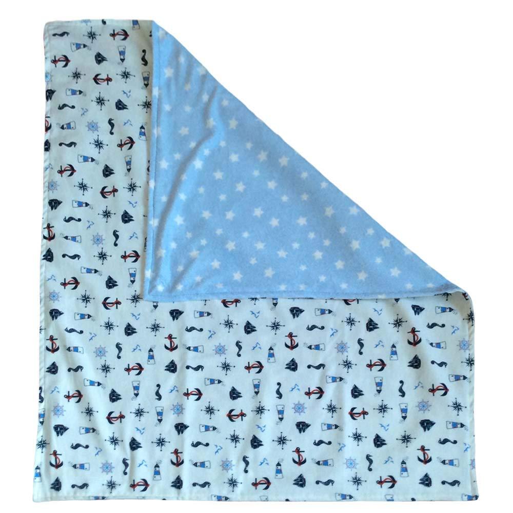 Pillowerus Homemade 100% Cotton Flannel and Mink/Plush Newborn/Baby/Toddler 29