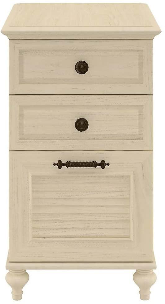 Bush Furniture kathy ireland Home Volcano Dusk 3 Drawer File Cabinet, Driftwood Dreams