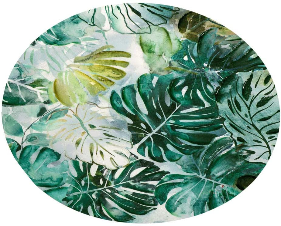 Bath Rugs Botany Elements Blanket Round Bathroom Carpet 60Cm Home & Garden Bathroom Products