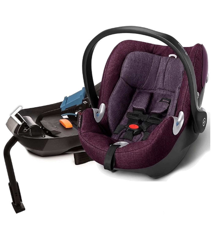 Cybex Aton Q Plus Infant Car Seat - Grape Juice Purple