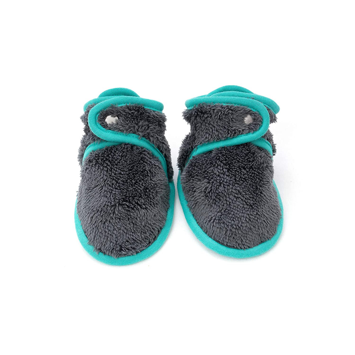 baby deedee Warm Baby Booties Baby Slippers Stay on with Non Skid Sole for Newborns and Infants 6 Months