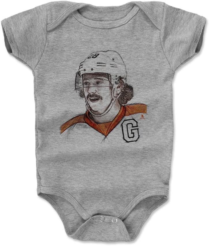 500 LEVEL Claude Giroux Philadelphia Hockey Baby Clothes & Onesie (3-24 Months) - Claude Giroux Sketch