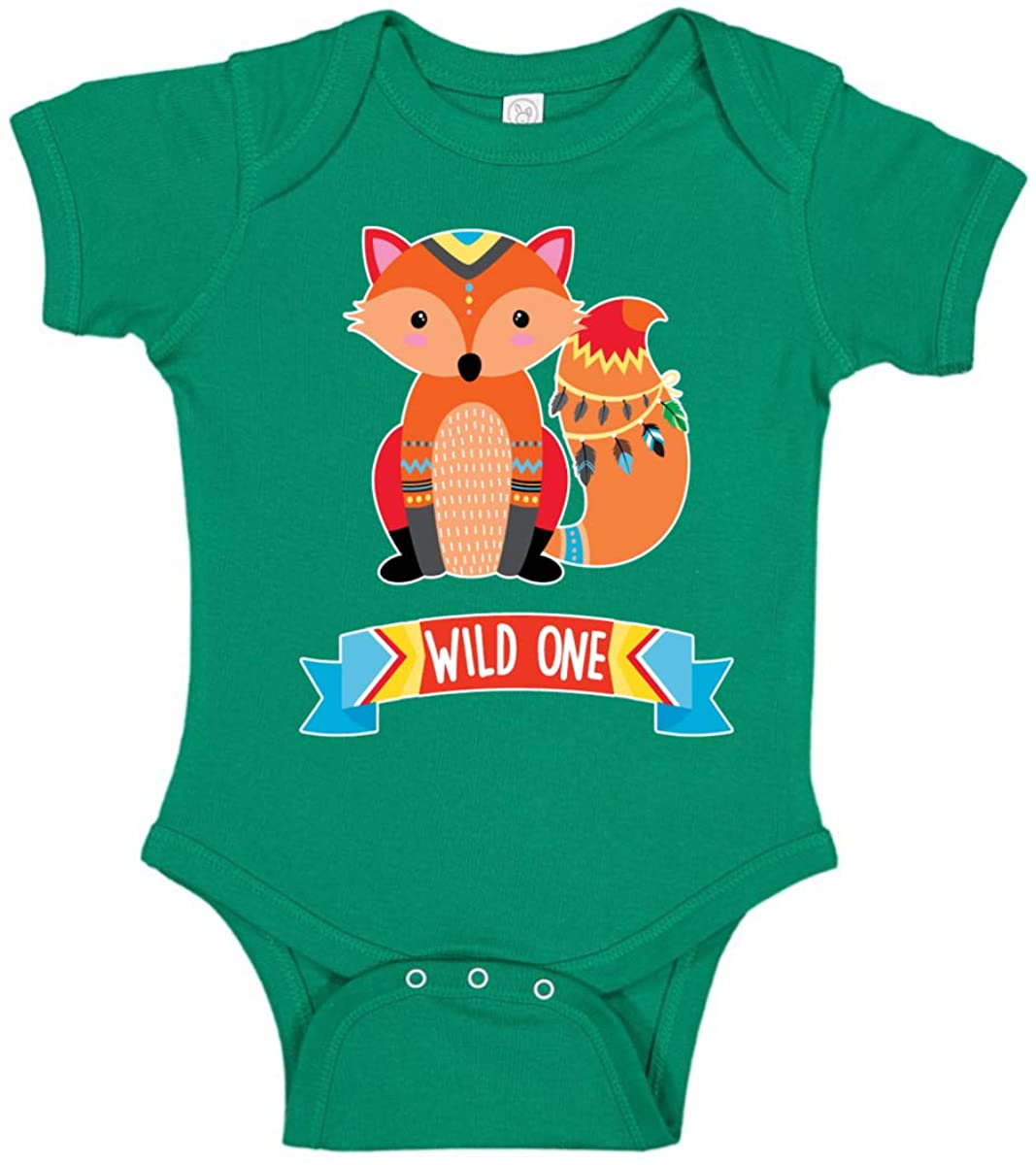 Wild One Funny Gift Idea Humor Baby Creeper Boys Girls Infant Bodysuit