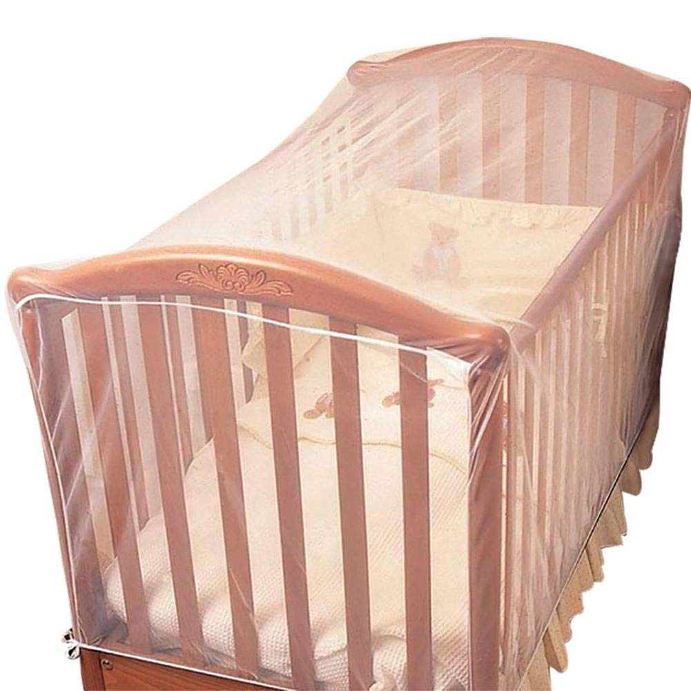 Crib Mosquito Net Insect Proof Mosquito Net for Crib Breathable Baby Crib Net to Protect from Insects & Keep Baby in Safely