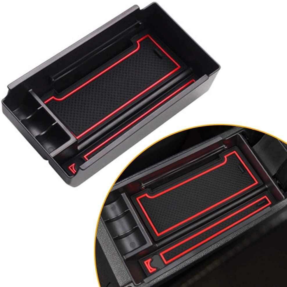 saitake Car Center Console Organizer Tray for Volkswagen Lavida Gran Lavida Cross Lavida 15-17 Armrest Secondary Storage Box Container
