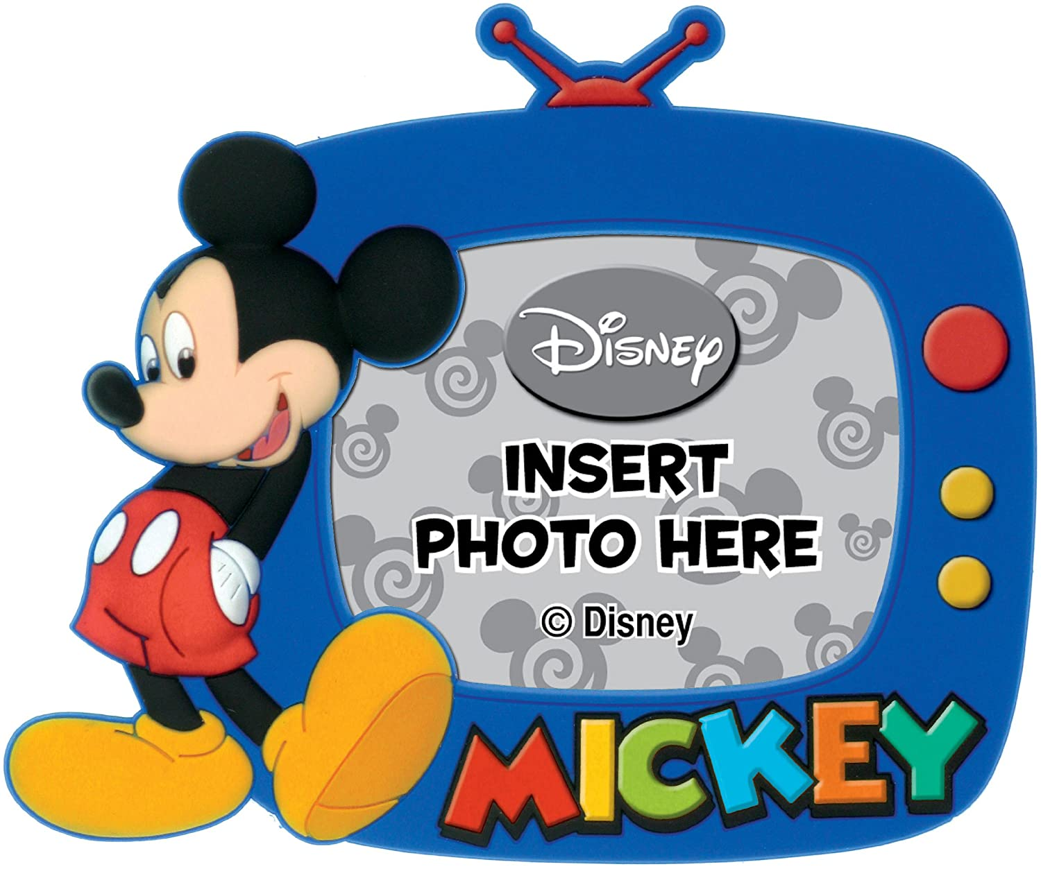 Disney Mickey Magnetic Photo Frame,Multi-colored,4