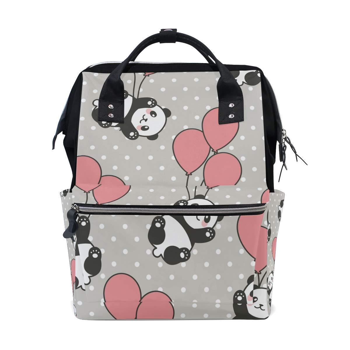 MERRYSUGAR Shiba Dog Cartoon Diaper Bag Backpack Travel Bag Large Multifunction Waterproof Stylish and Durable Nappy Bag for Baby Care School Backpack