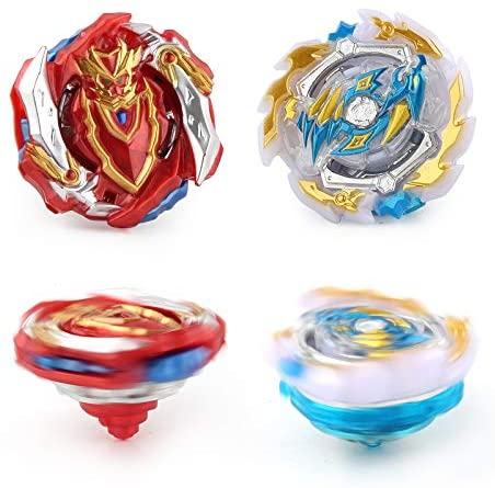 Bey Battle Burst Evolution Attack Gyro Metal Fusion Set with 4D Launcher Starter 2 in 1