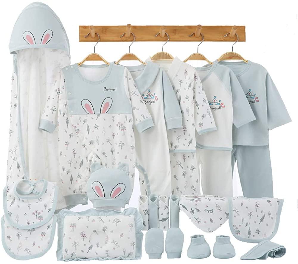 24Pcs Newborn Baby Clothes Preemie Clothing Newborn Girl Outfit Boy Newborn Layette Set 0-6 Months