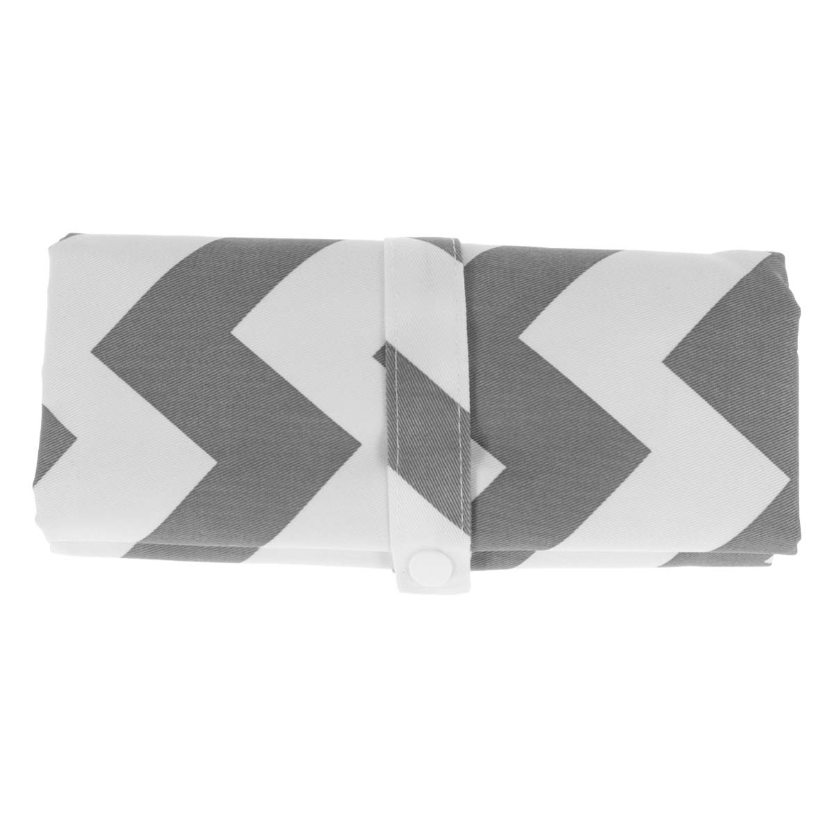 SUPVOX Cotton Nappy Changing Mat Waterproof Diaper Changing Pad Foldable Baby Urinal Pad for Travel Outside (Wave Grey)