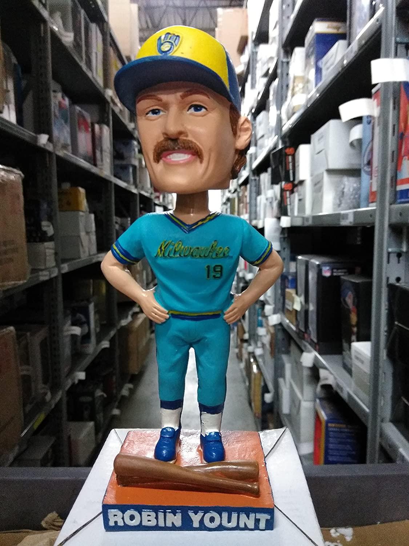 Robin Yount Milwaukee Brewers Blue Bobble SGA 2006 Milwaukee Brewers Bobblehead