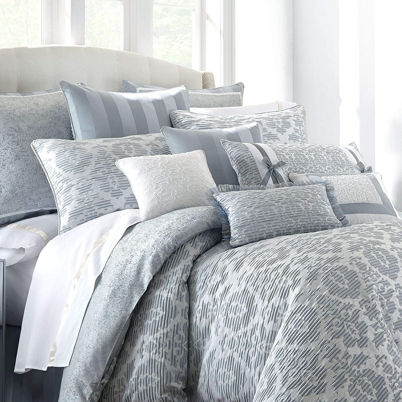 Waterford Abbey Euro Pillow Sham - Dusty Blue