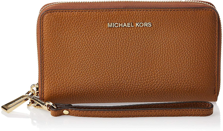 MICHAEL Michael Kors Large Flat Multi-Function Phone Case Acorn One Size