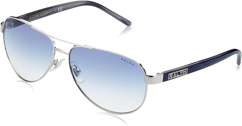 Ralph by Ralph Lauren Women's Ra4004 Metal Pilot Sunglasses