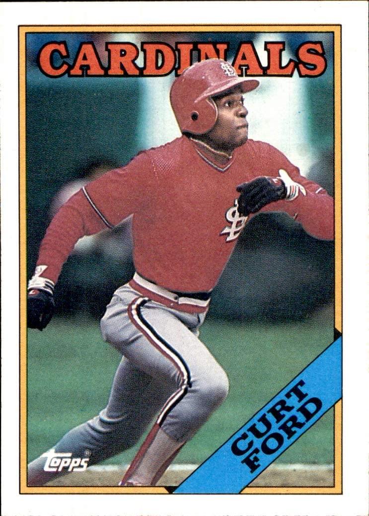 1988 Topps #612 Curt Ford ST. LOUIS CARDINALS MLB Baseball Trading Card (Sku7JLa)