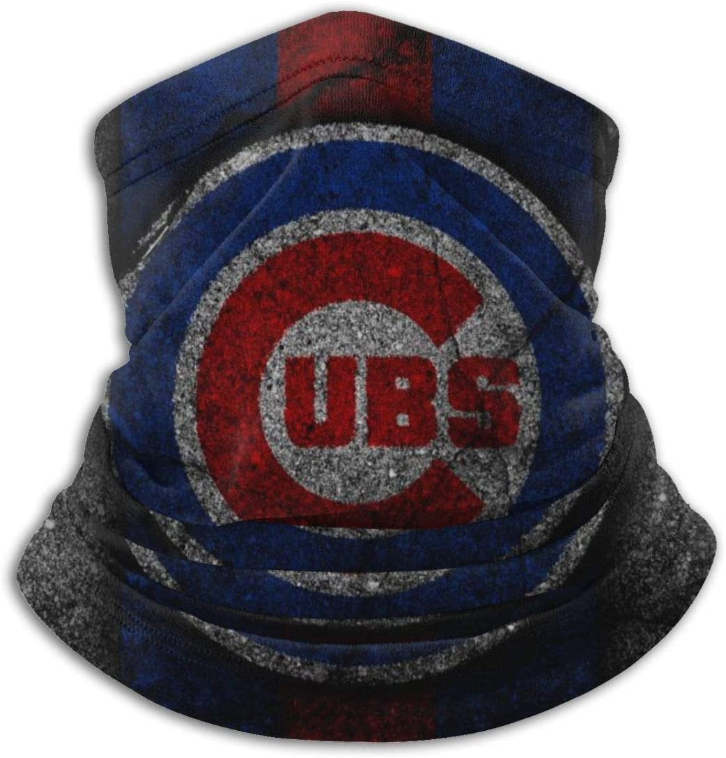 G-III Sports Chicago Cubs Face Bandanas Neck Gaiter Face Cover Scarf Balaclava Lightweight Breathable Fishing Running Cycling