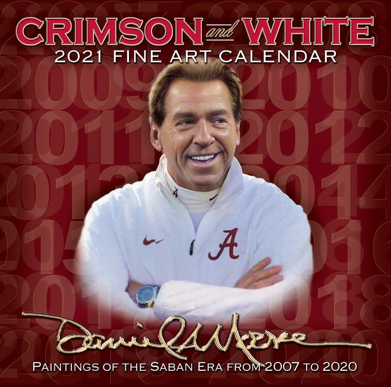 Daniel Moore's 2021 Alabama Football Fine Art Calendar
