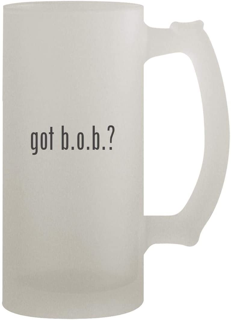 got b.o.b.? - 16oz Frosted Beer Stein, Frosted