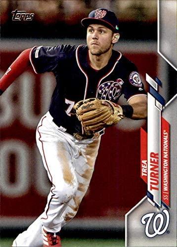 2020 Topps #214 Trea Turner washington nationals 2019 world series champions (Box229MP) MLB Baseball Trading Card