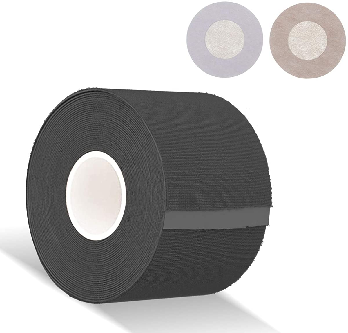 Boob Tape and 10 Pcs Petal Backless Nipple Cover Set, Breathable Breast Lift Tape Medical Grade Athletic Tape