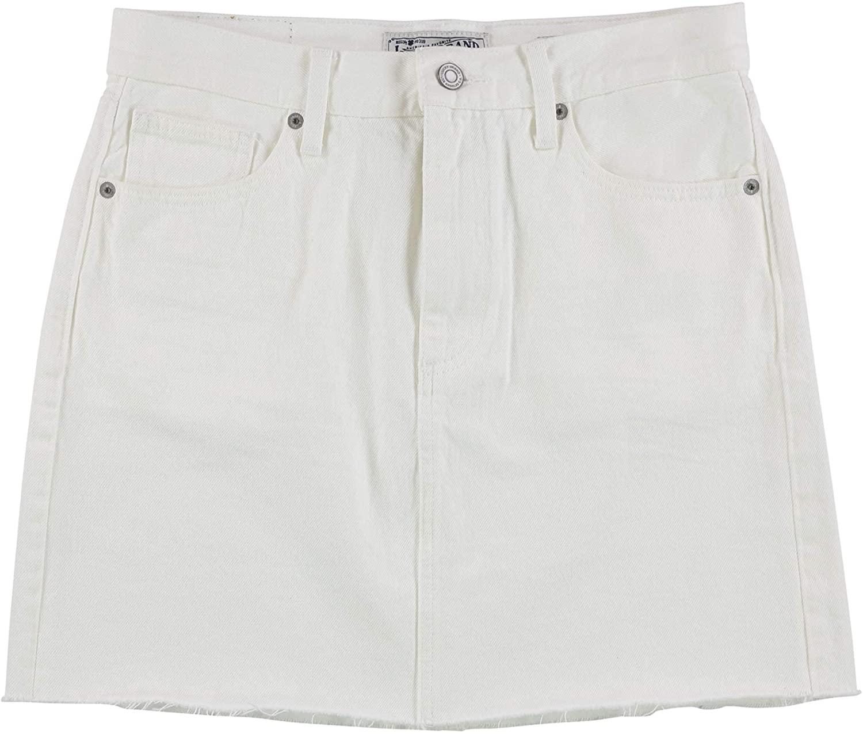 Lucky Brand Womens Old Favorite Denim Mini Skirt