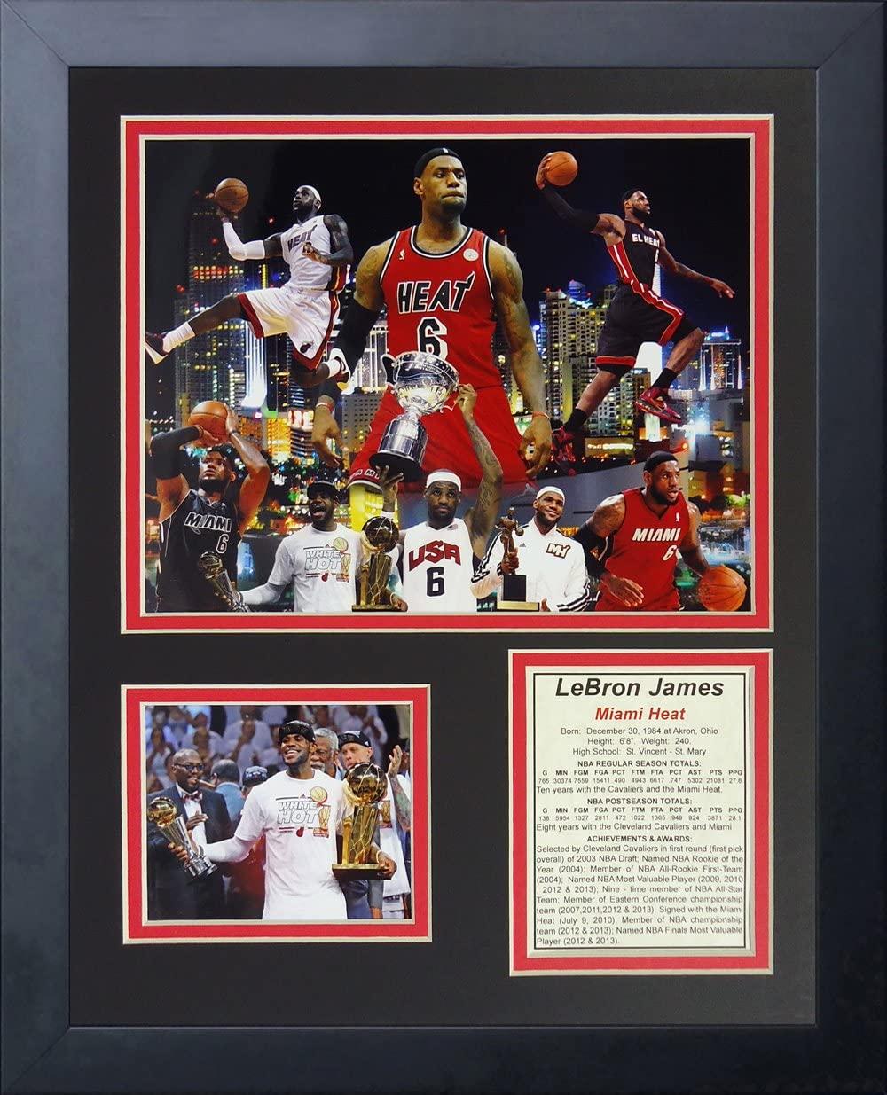 Lebron James Miami Heat Collage 11
