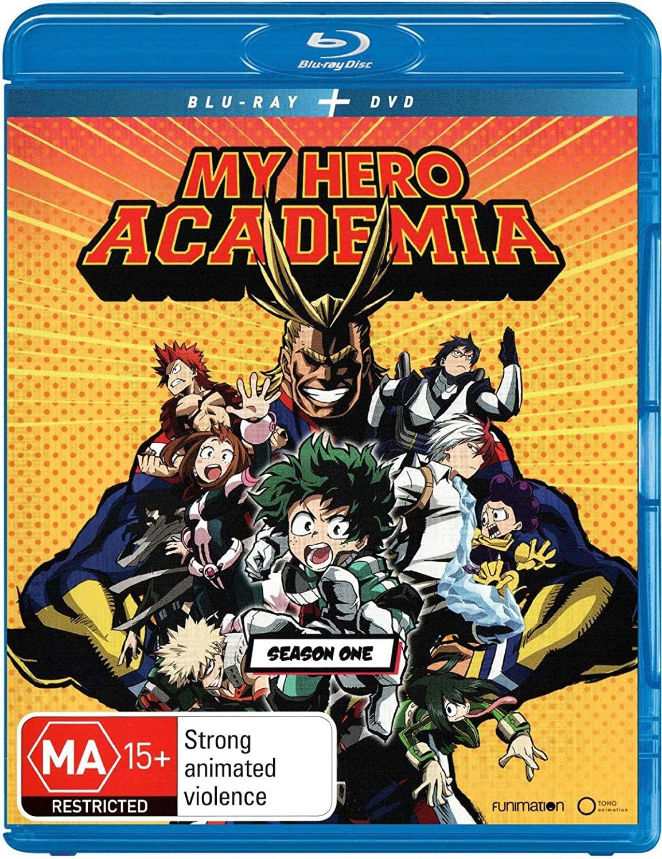 My Hero Academia: Season 1 Blu-ray + DVD | Anime | 4 Discs | NON-USA Format | Region B Import - Australia