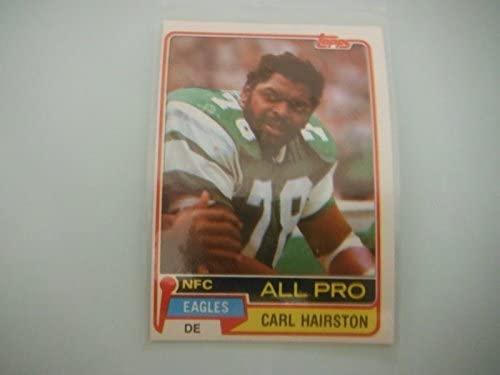 Carl Hairston - Philadelphia Eagles - 1981 Topps #480