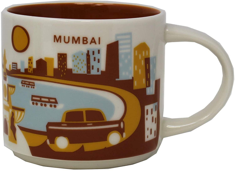 Starbucks Mumbai - India You Are Here YAH Collection Coffee Mug