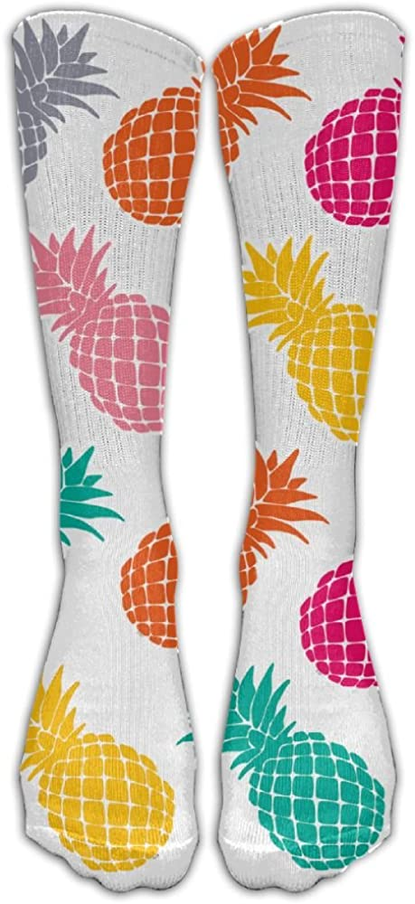 Y-CF Pineapple Sports Athletic Socks Funny Unisex Long Stocking One Size