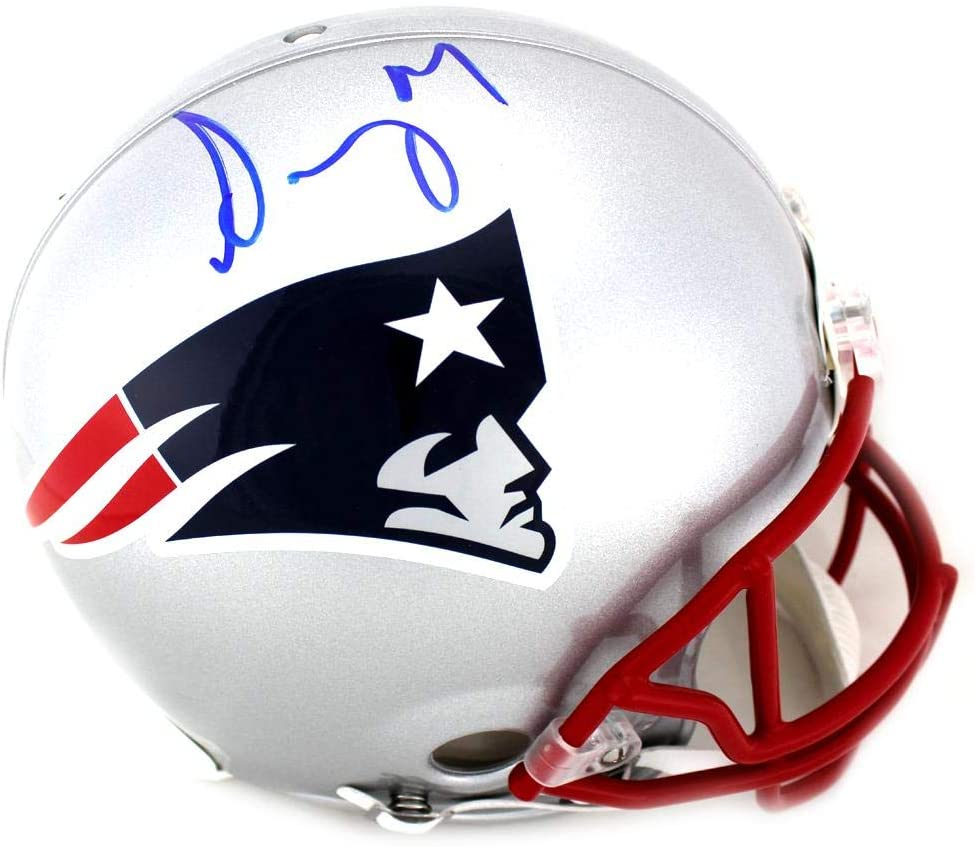 Sony Michel Signed New England Patriots Current Authentic Helmet - Autographed NFL Helmets