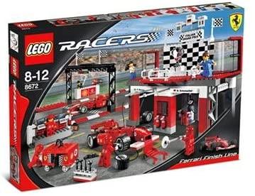 LEGO Racers 8672 Ferrari Finish Line