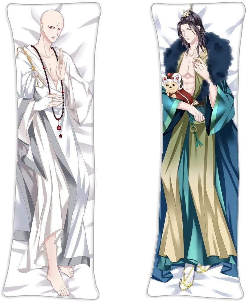 vucosfly WuXin Xiao Se Xiao Chuhe Chinese Anime Shao Nian Ge Xing 2Way Tricot Fabric Anime Body Pillow Cover,62.9in x 19.6in Customize Anime Character Pillowcase