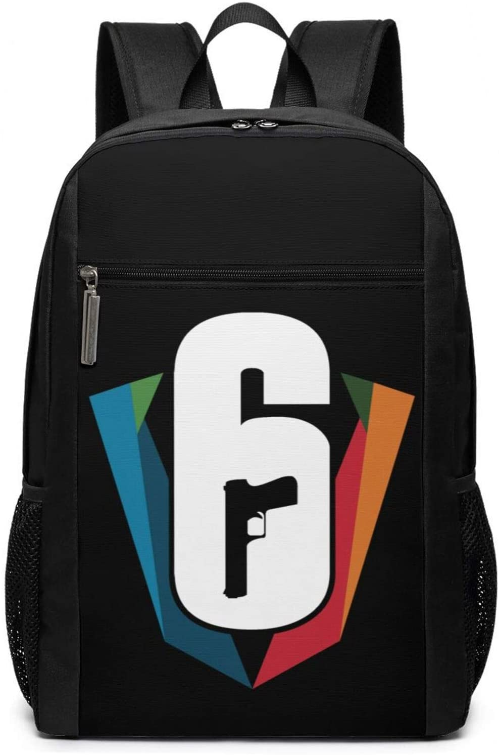 NaohBent Rainbow Six Siege Fashion backpack casual polyester 17 inch bags for man women One Size