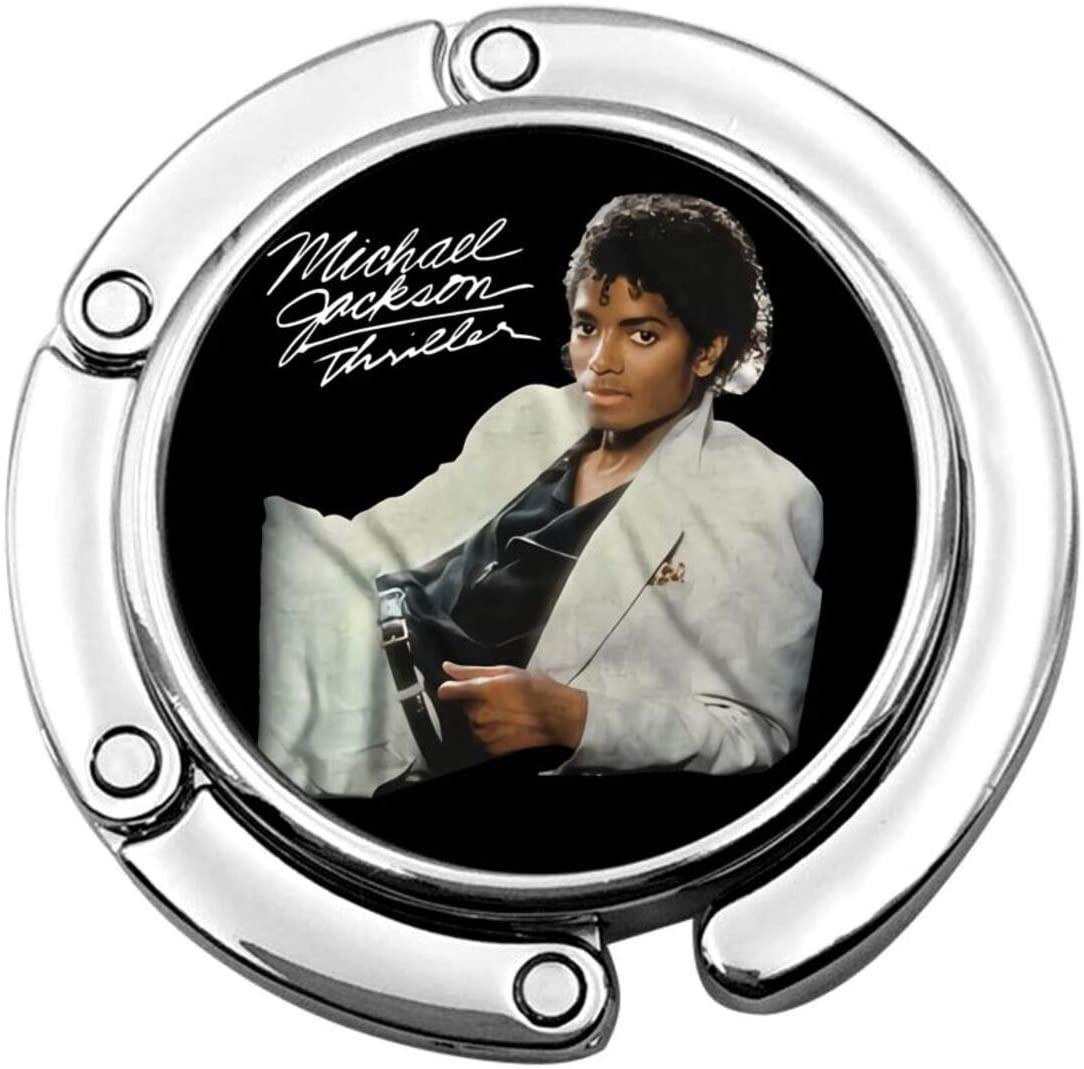 Fanniemo Michael Jackson Hook Foldable Handbag Table Hanger Bag Hanger Collection Table Hook Wallet.