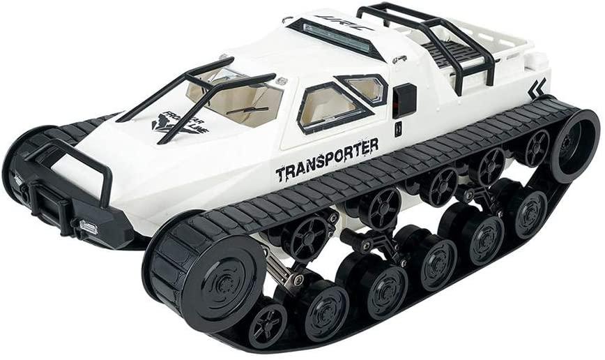 Children's Electric Tank Toy, 2.4G Four-Wheel Drive high-Speed Drift Tank Toy, Tank Electric Remote Control Tank Machine Stunt RC