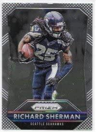 Richard Sherman 2015 Panini Prizm Seattle Seahawks Card #25