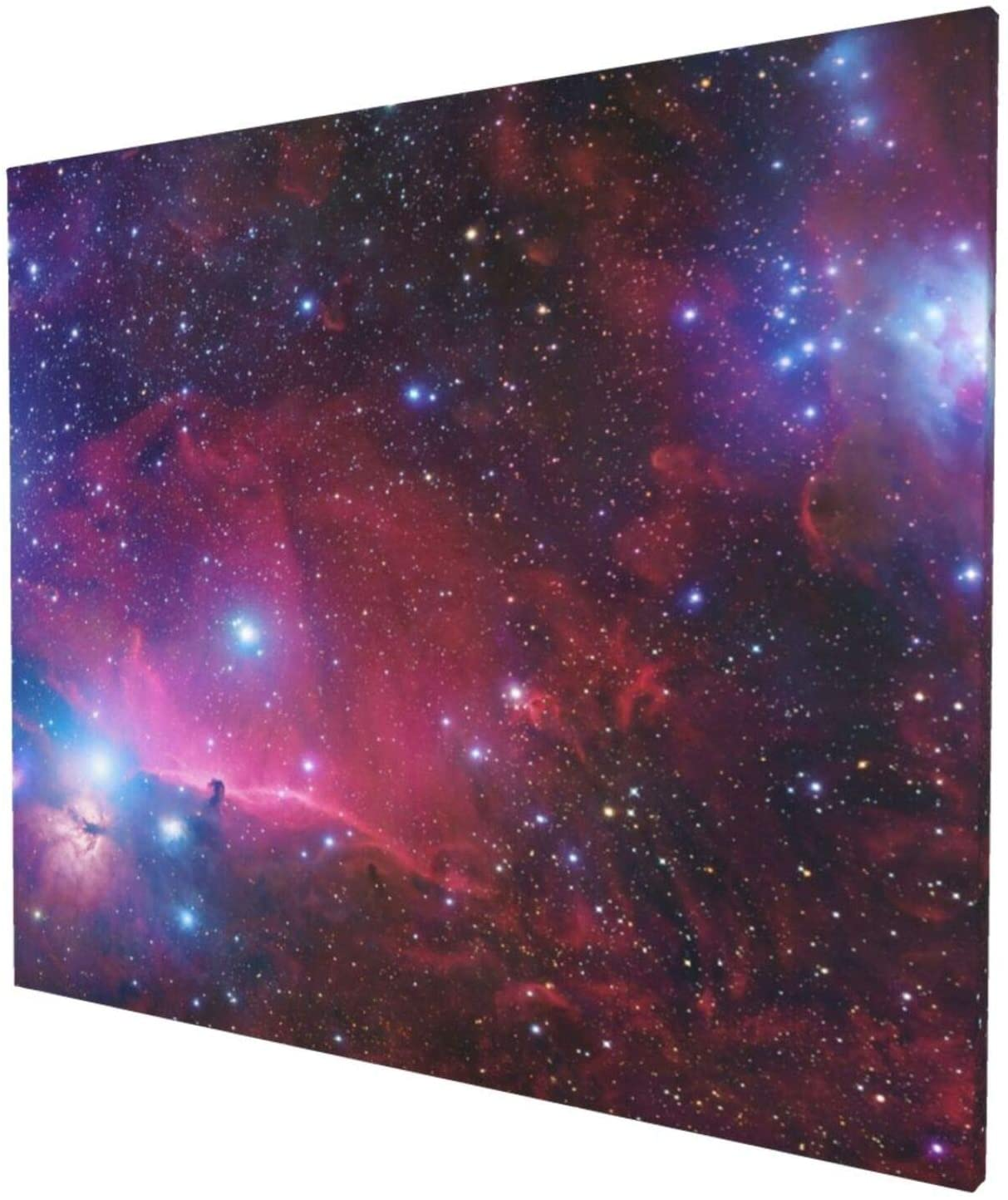 Galactic Galaxy Space Themed Christmas Tree Canvas Wall Paintings Modern Art Hd Printingone Size
