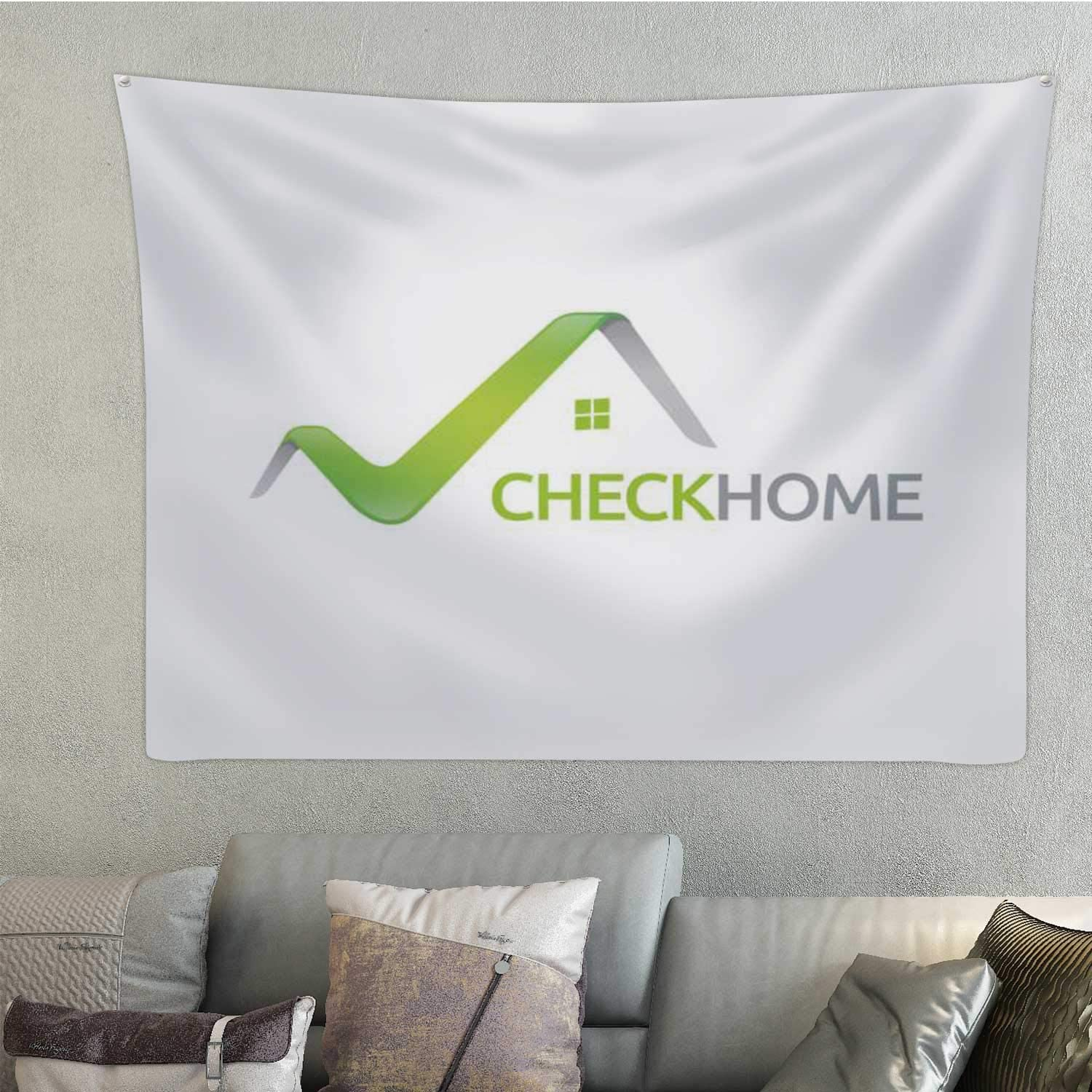 Hitecera Check homeicon - Illustration - Turkey Middle East,taries Logo Room Decor 78.7'' x 59.1''(WxH)