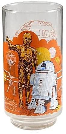 Burger King Star Wars Glass (1977 / Episode - IV / R2-D2 & C-3PO / 5 1/2