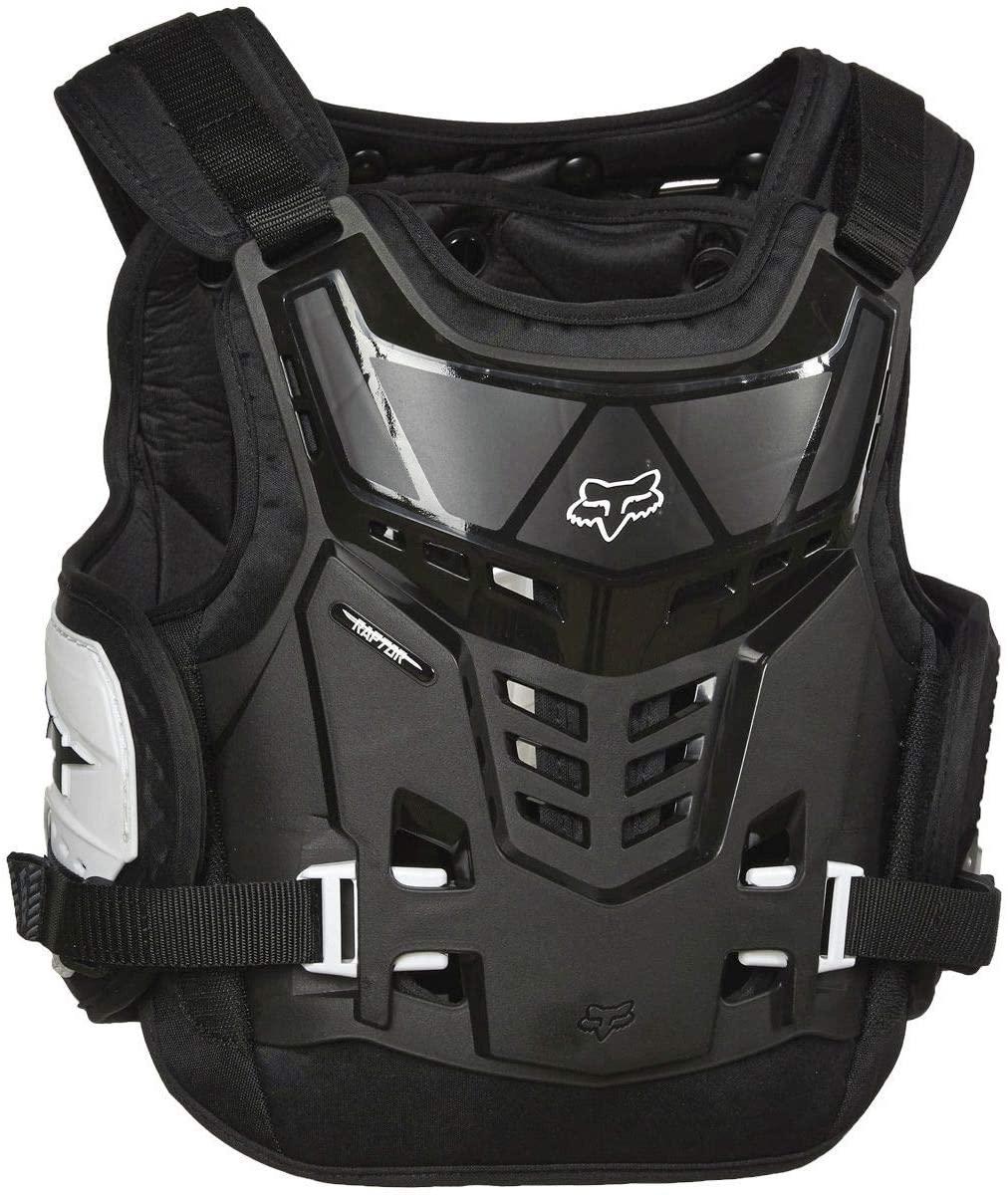 Fox Racing YTH Raptor PROFRAME LC, Black/White, One Size