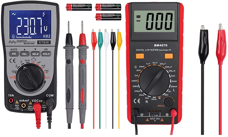 Proster LCR Meter + Proster Oscilloscope Multimeter 4000-Count