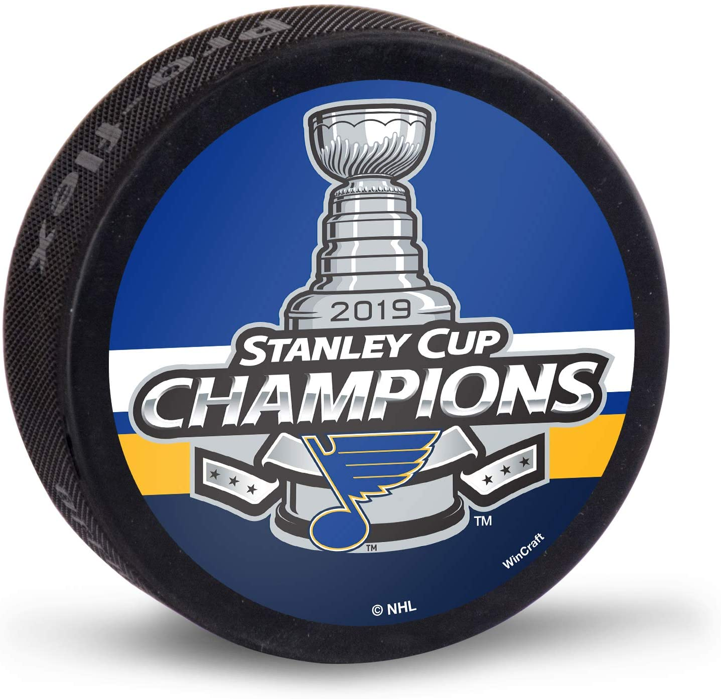 WinCraft St. Louis Blues 2019 Stanley Cup Champions Replica Hockey Puck