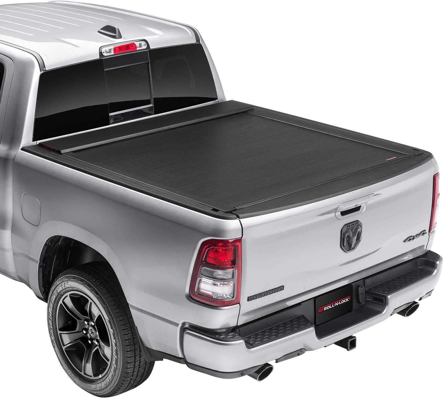 Roll N Lock E-Series Retractable Truck Bed Tonneau Cover | RC401E | Fits 2019 - 2020 New Body Style Dodge Ram 1500-3500, Does Not Fit With Multi-Function (Split) Tailgate 5' 7